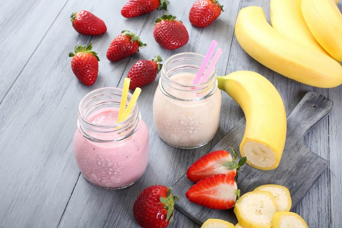4 Fruit Milkshakes for Dessert