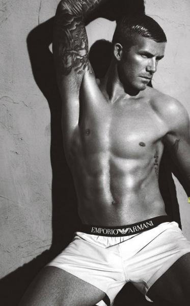 David Beckham Armani underwear