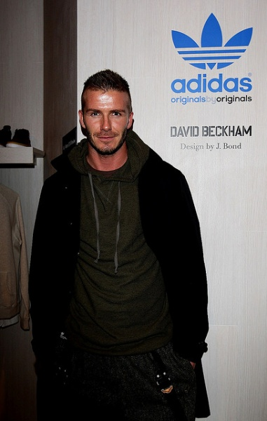 David Beckham advertises adidas