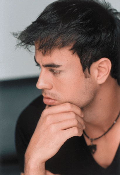 Enrique Iglesias deep in thoughts