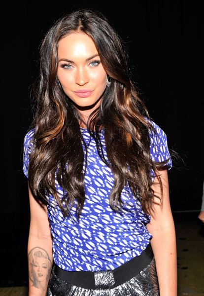 Megan Fox attends at the Teen Choice Awards 2010