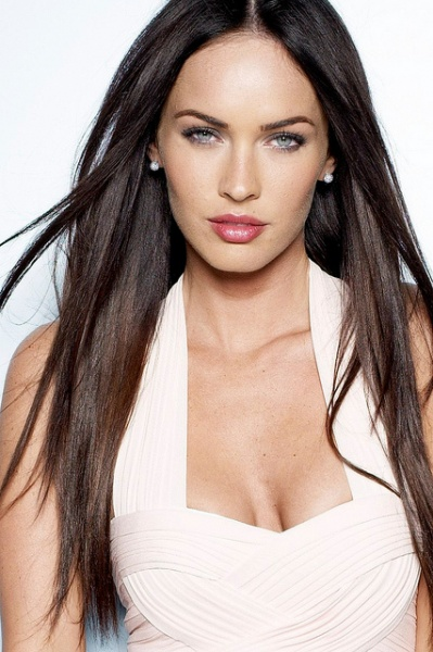 Megan Fox in a diamond earring