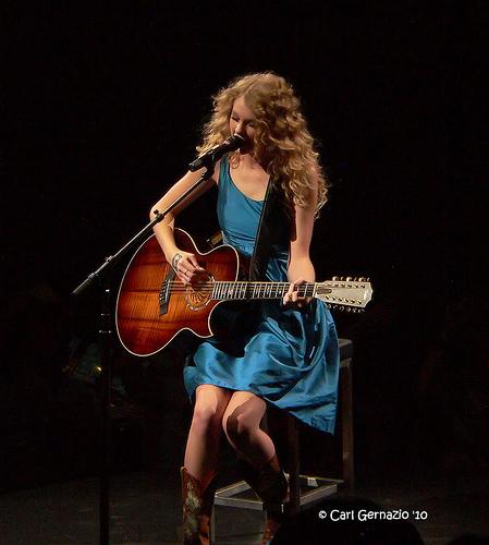 Taylor Swift, at the Verizon Center in Washington