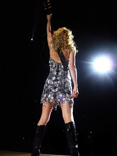 Taylor Swift perfomance at the Wachovia Center, Philadelphia