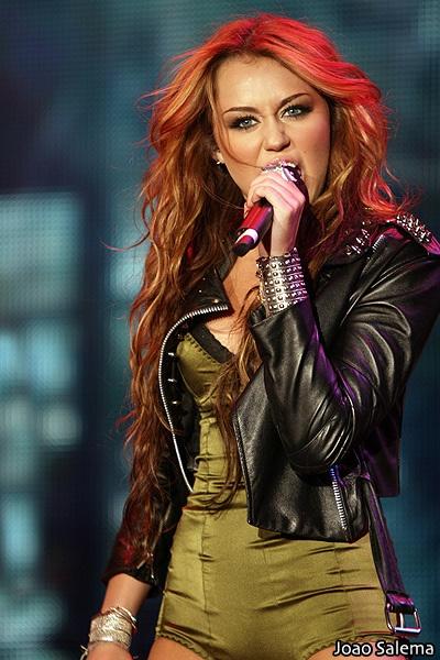 Miley Cyrus performs at Rock In Rio