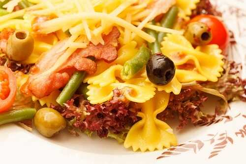 Low Fat Pasta Salad