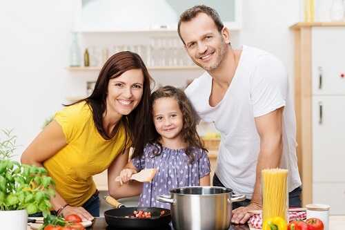 Get your child involved in cooking