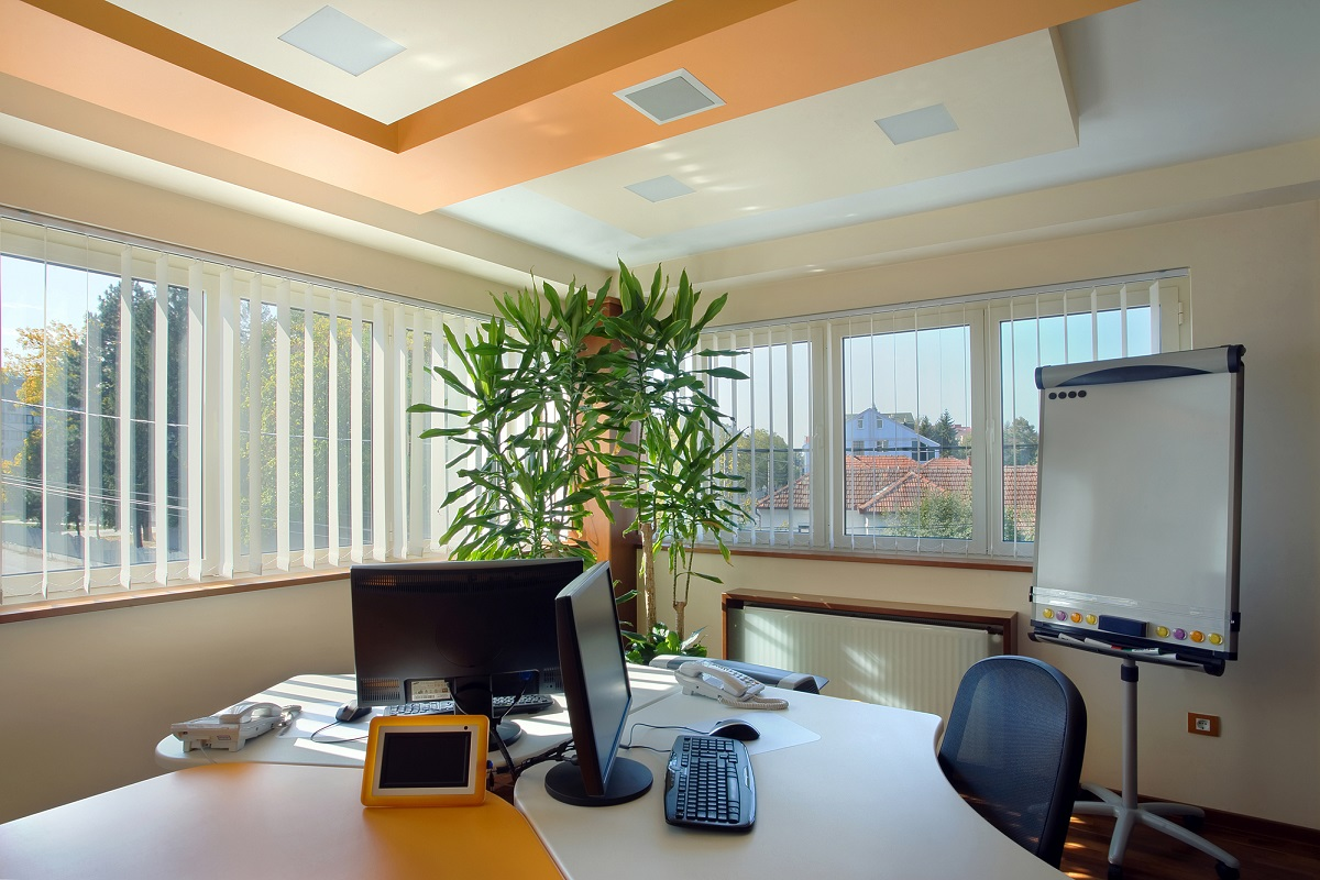 Contemporary Feng Shui Office