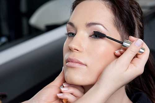 Opt for waterproof liner and mascara