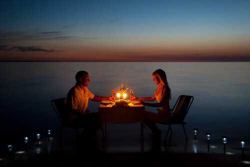 Plan a romantic private dinner