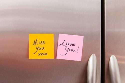 Leave notes of appreciation