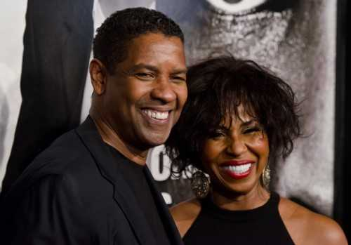 Denzel and Pauletta Washington