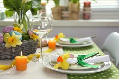 Egg centerpiece