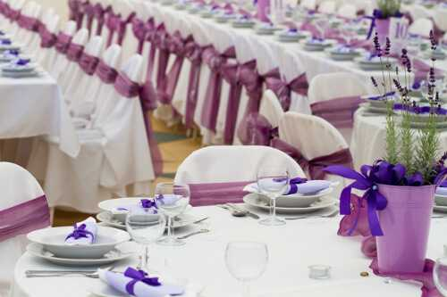 Sage and lavender wedding color combinations