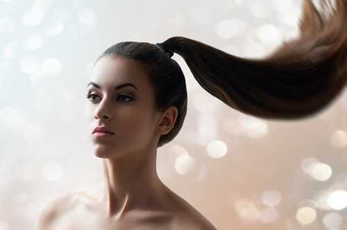 Sporty ponytail