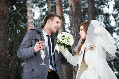 Wedding on the slopes