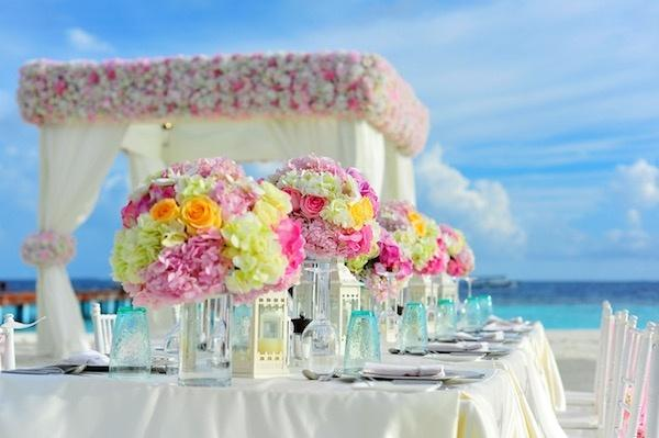 Wedding Color Combinations - Yellow and Pink