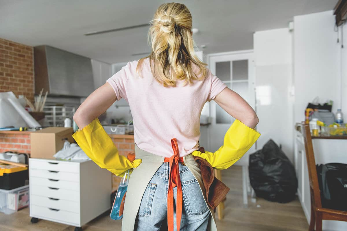 4 Ways You Can Spend Less Time Cleaning