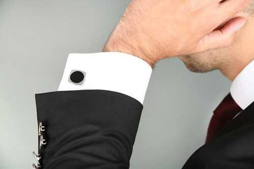 A pair of well-made cufflinks