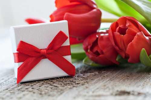 A gift card