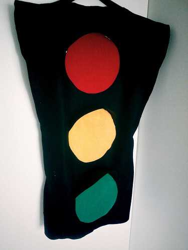 Stoplight Halloween costume