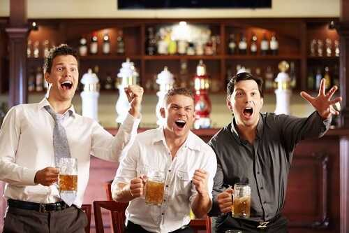 Boy's nights out are not always great entertainment for them