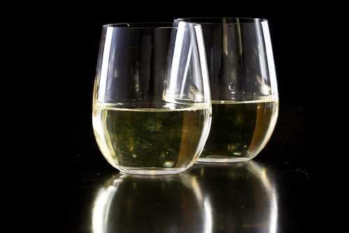 Stemless Glasses for Champagne