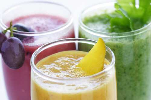 Add smoothies to your healthy diet