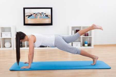 8 pilates  8 simple exercises to do while watching tv