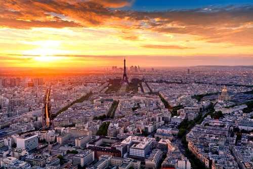 Valentine's Day trip to Paris