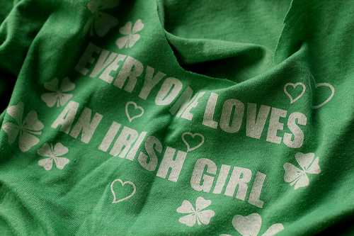Make St. Patrick's Day tee
