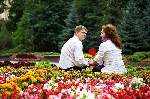 Head to the Flower Gardens