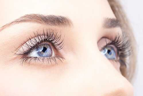 Make your eyelashes thicker
