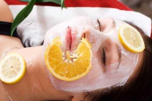 Exfoliate skin women over 40