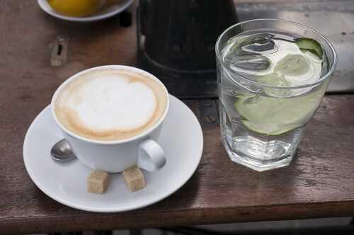 Lemon water Can Help You Break the Coffee Habit