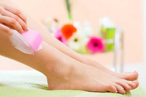 Depilatory cream - hair removal