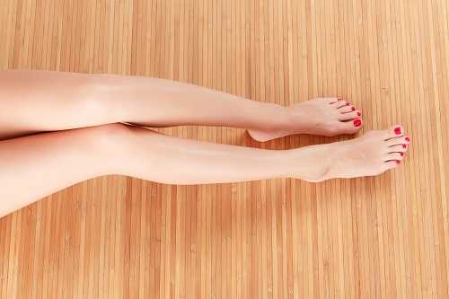 Ingrown hairs are less likely with waxing