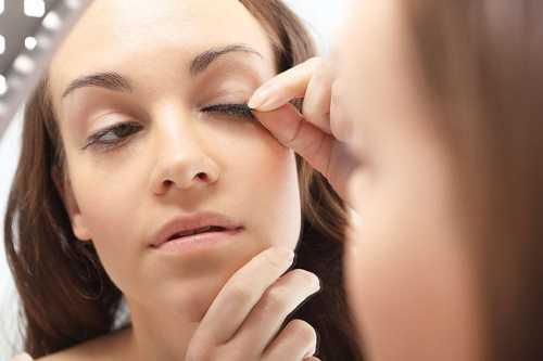 Limit Fake Eyelash Use