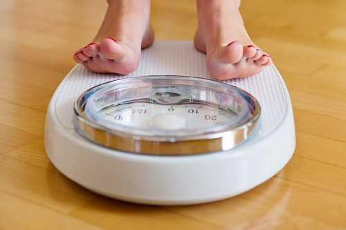 Lose weight slowly