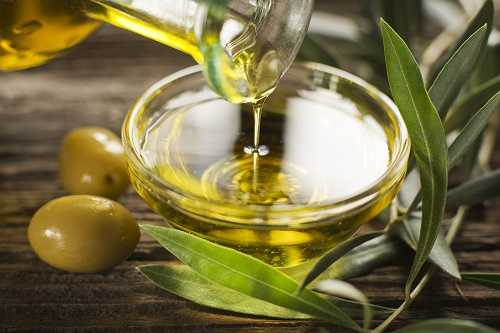 Olive Oil for Silky Hair