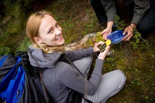 Try your hand at geocaching