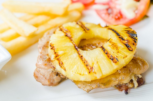 You can cook with pineapple