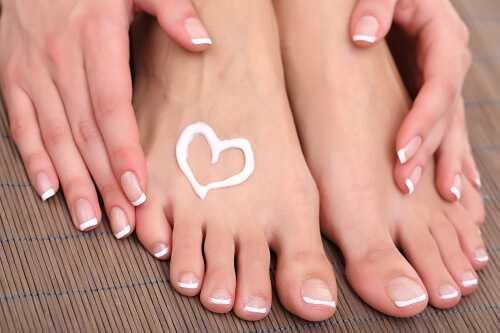 Moisturize your feet