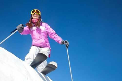 Enjoy winter activities
