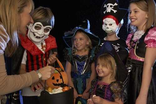 Halloween teaches them not to be afraid of strangers