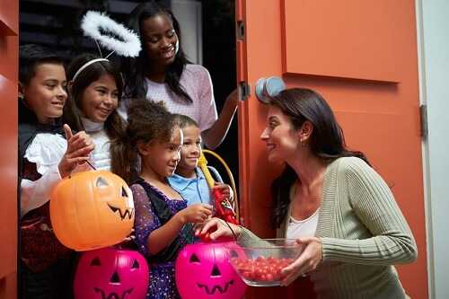 Halloween teaches them to be more social
