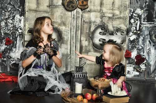 Halloween teaches them to be selfish