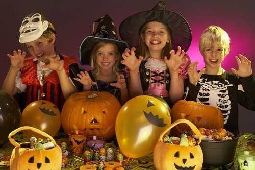 Halloween teaches them to behave poorly