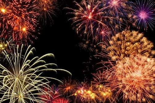 Organize a firework display
