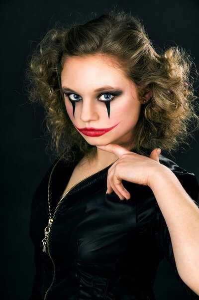The Joker Halloween Makeup